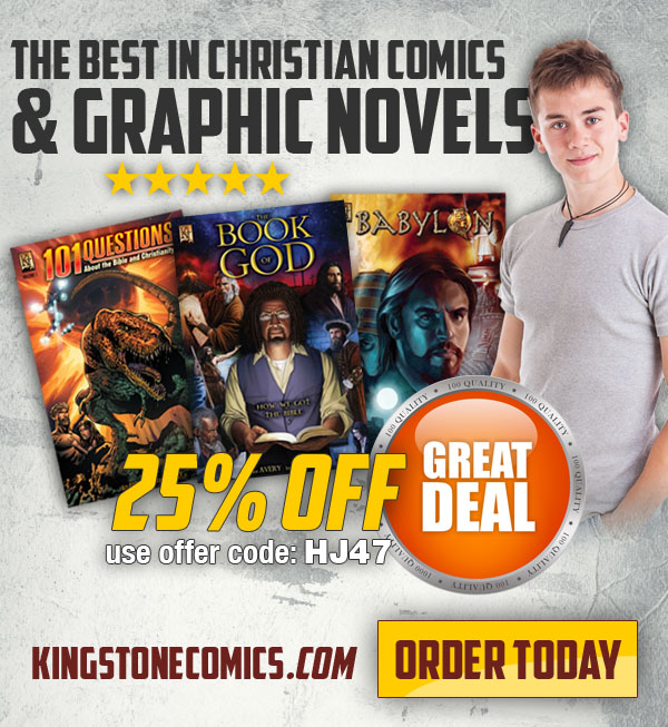 Kingstone Comics And Hollywood Jesus Team Up For Discount