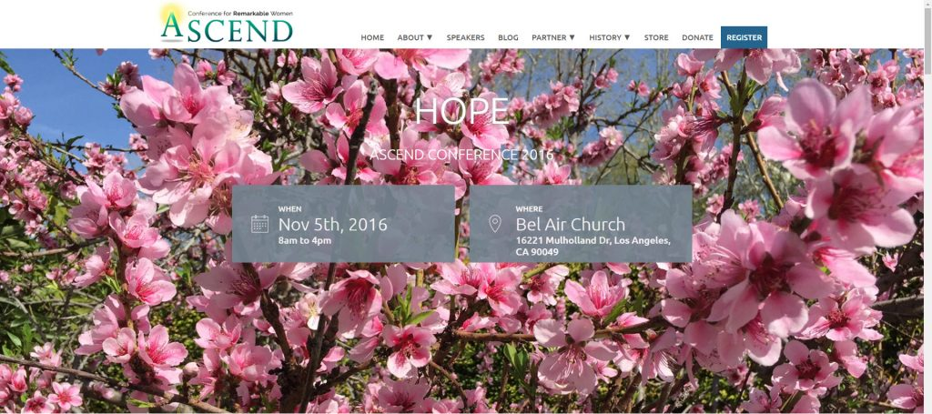 Ascend Women's Conference 2016