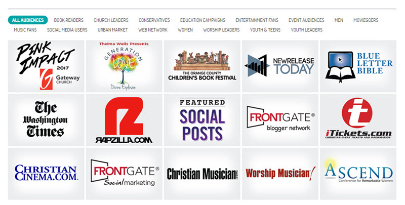 FrontGate's Christian Web & Event Network