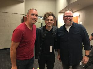 Robby, Cole and Bart Millard from MercyMe
